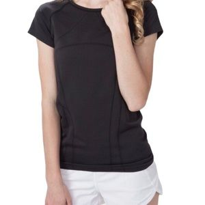 IVIVVA Fly Tech Tee/Top Black Girls Age 14Y